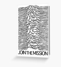 Join the Mission Greeting Card