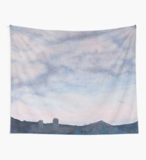 Storm Over Igel Farm Wall Tapestry