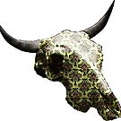 Beautiful Pattern Cow Skull Design v.2 by GLOBEXIT