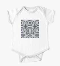 Hilbert Curve - Filled Kids Clothes
