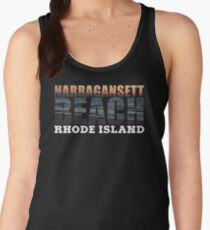 Narragansett Beach, Rhode Island  Women's Tank Top