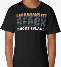 Narragansett Beach, Rhode Island  Long T-Shirt