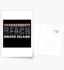 Narragansett Beach, Rhode Island  Postcards