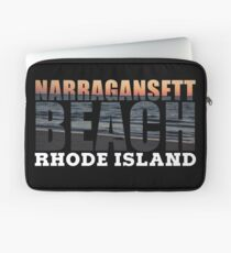 Narragansett Beach, Rhode Island  Laptop Sleeve