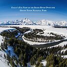 Eagle's Eye View - Snake River Overlook, Grand Teton National Park by A.M. Ruttle