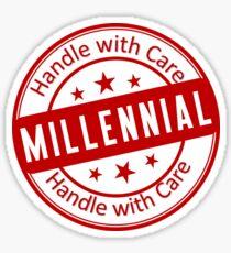 Funny Millennial Joke Sticker