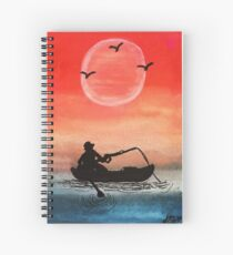 Patience and Solitude Spiral Notebook
