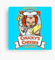 Chucky's Cheeses Canvas Print