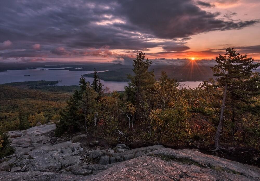 Sunrise on Mount Major, New Hampshire  by mattmacpherson