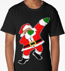 Dab Black Santa Long T-Shirt