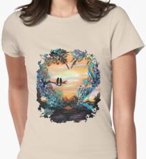 Natures Love Womens Fitted T-Shirt