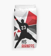 MJ - His Airness Duvet Cover