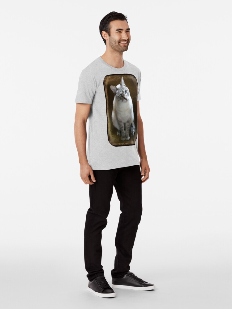 Alternate view of Lilac Point Siamese ~ Old Blue Eyes Premium T-Shirt