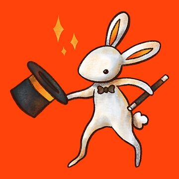 Magician Bunny by katiecrumpton