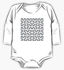 Hilbert Curve Kids Clothes