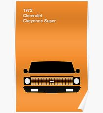 Chevy C10 Truck Poster Poster