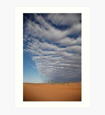 weather front Art Print