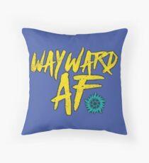 Wayward af Throw Pillow