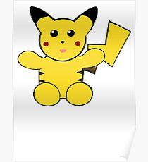 plush toy pickachu Poster