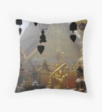 Doi Suthep - Chiang Mai - Thailand Throw Pillow