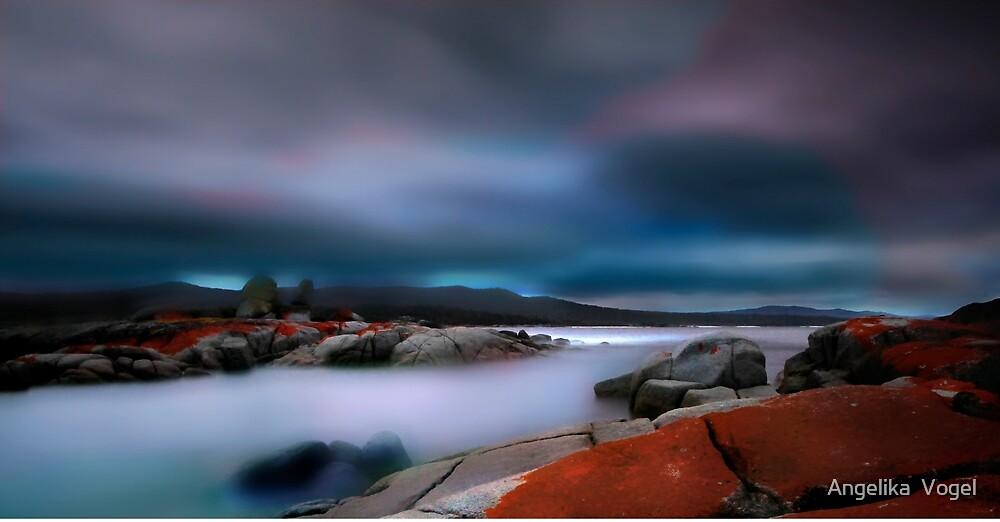 After Sunset by Angelika  Vogel