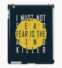 Dune - The Litany Against Fear (White) iPad Case/Skin