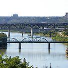 Edmonton Bridges by kennedywesley