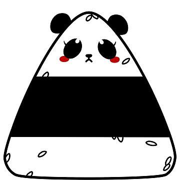 Panda Riceball by Feoryn