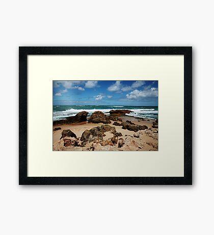 Bay of Islands,Mornington Pennisula,Victoria Framed Print