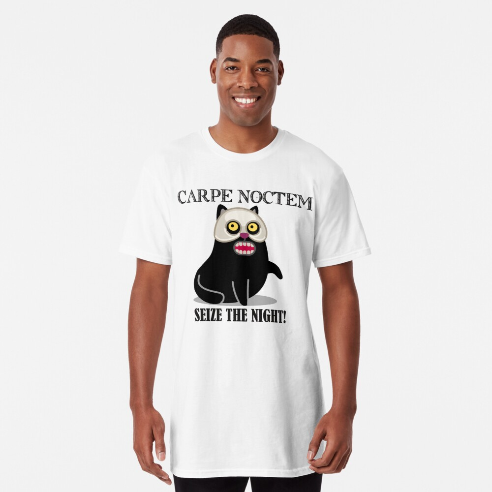 The Masquerade Phantom Cat! Long T-Shirt