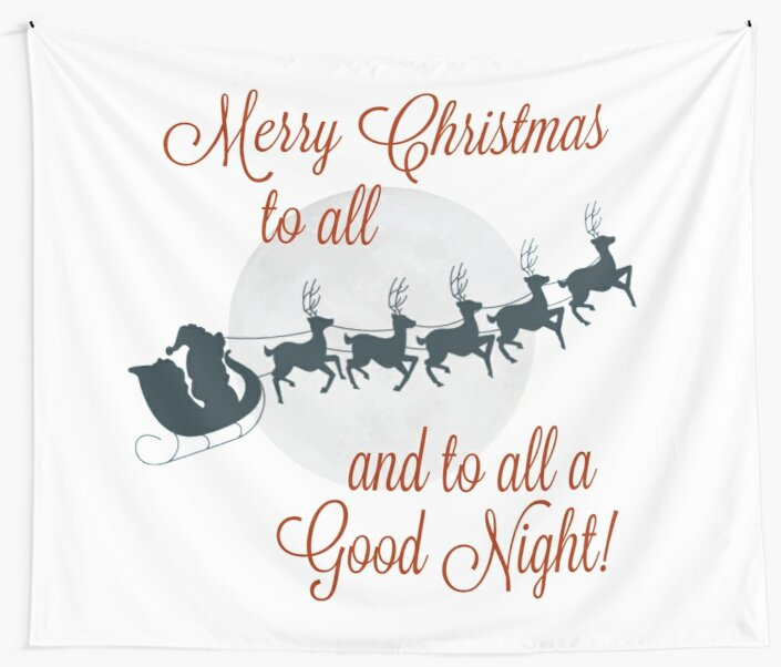 merry christmas to allto all a good night by jenn graham - Merry Christmas To All And To All A Good Night