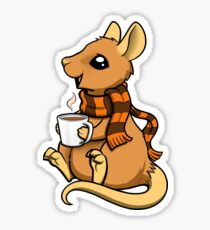 Pumpkin Spice Rat Sticker