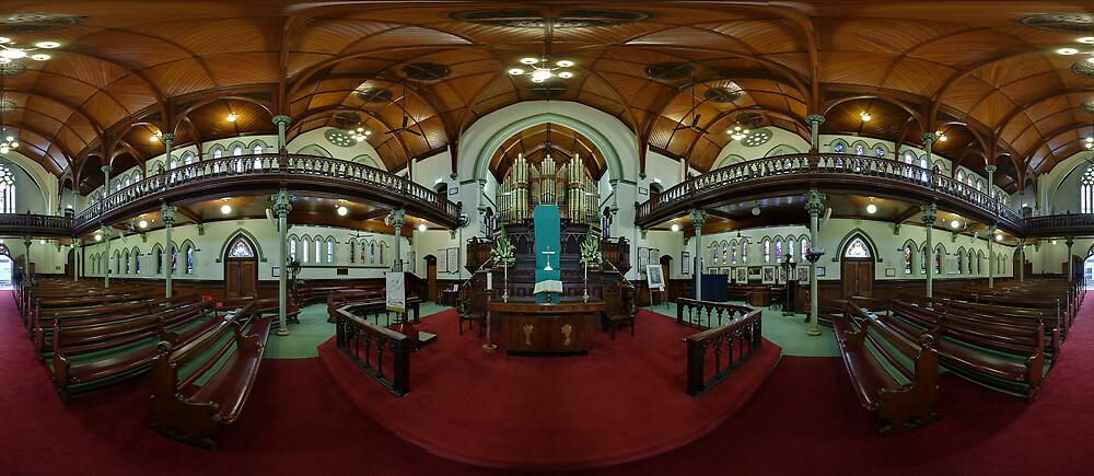 Albert Street Uniting Church, Brisbane. by David James