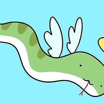 Angel Snake by SaradaBoru