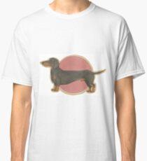 Camiseta clásica Wiener Dog Doxie Dachshund