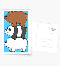 Bears Postcards