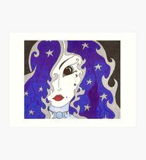 Selene, Goddess of the Moon Art Print