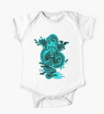 Epic Dragon Teal One Piece - Short Sleeve