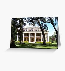 The Crown Jewel of River Road- Houmas House Plantation Greeting Card