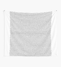 full bee movie script Wall Tapestry