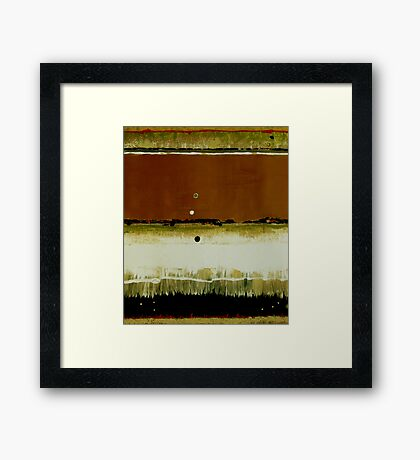 What's Your Line? Framed Print
