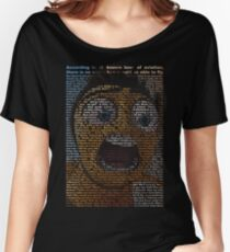 full bee movie script Women's Relaxed Fit T-Shirt