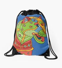 Jaguar, from the AlphaPod collection Drawstring Bag