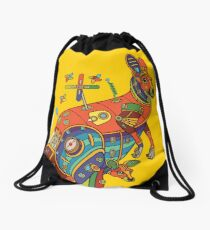 Kangaroo, from the AlphaPod collection Drawstring Bag
