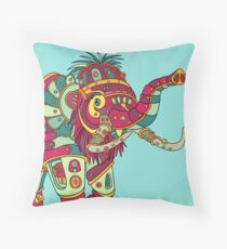 Mammoth, from the AlphaPod collection Throw Pillow