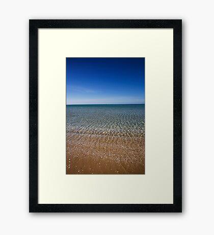 Tootgarook Beach Framed Print