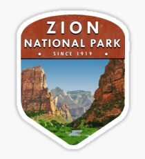 Zion National Park 2 Sticker