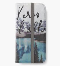verso l'alto  iPhone Wallet/Case/Skin