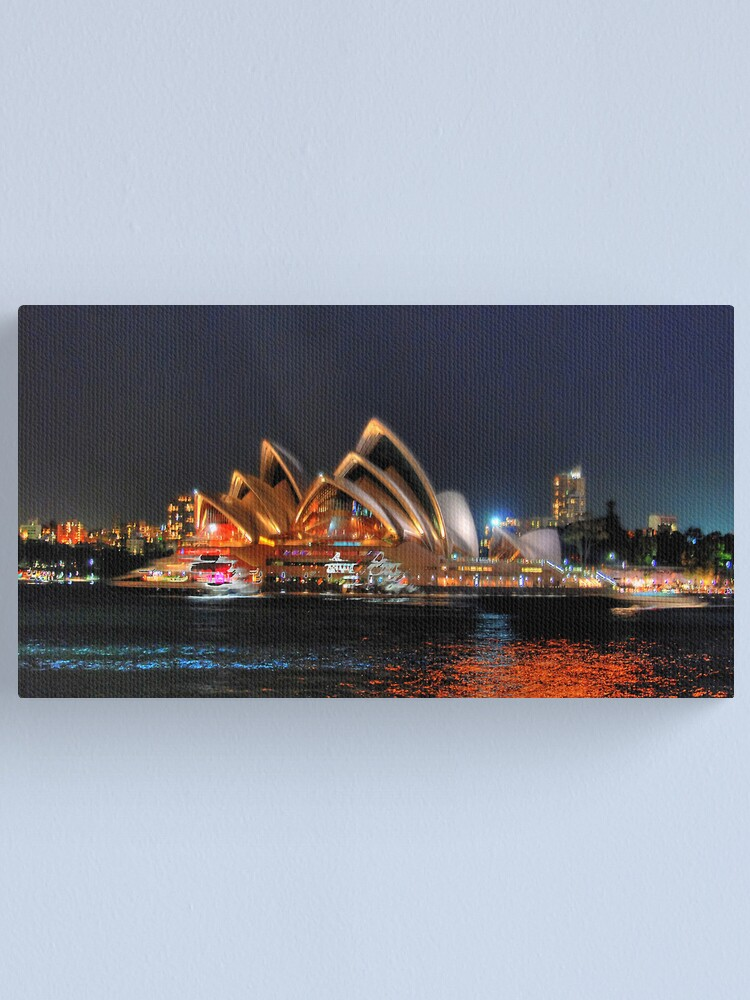 Alternate view of Sydney, Opera House from Milsons Point Canvas Print