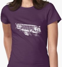 Impala Grille Womens Fitted T-Shirt